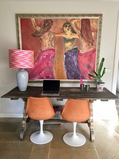 Office Project Den Haag by La Vie Bohème Office, Interior Design Inspiration, House Colors, Beautiful Homes, Dining Table, Colours, Spaces, Decoration, Furniture