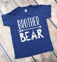 Big Brother Shirt - Big Brother Bear - Brother Shirts - Announcement Shirts…