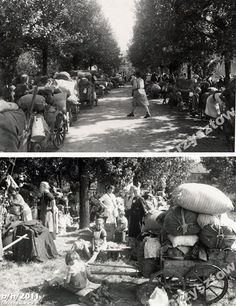 Geflüchtete Schlesien-Deutsche in Breslau