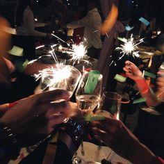 Planning to celebrate New Year's with us? Expect sparklers, champagne, and a fantastic yearender party.
