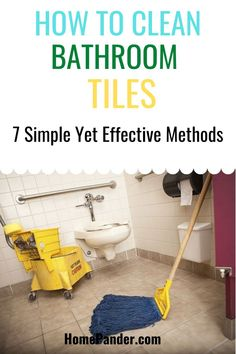 Are you wondering how to clean bathroom tiles? This turns out to be a quite common concern nowadays. So, guess what? We've got the methods here, so read along! #bathroom #cleaning #bathtub #home #cleaninghack #tilesclean Best Cleaning Products, Cleaning Hacks, Cleaning Supplies, Cleaning Bathroom Tiles, Delete Pin, Organizing Ideas, Household, Community, Group