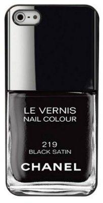 iCoverLover - Chanel Black Satin iPhone 5 Case, $34.95 (http://www.icoverlover.com.au/chanel-black-satin-iphone-5-case/)