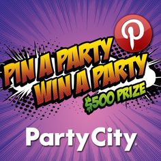 Pin your Halloween party essentials for a chance to win a $500 Party City shopping spree!