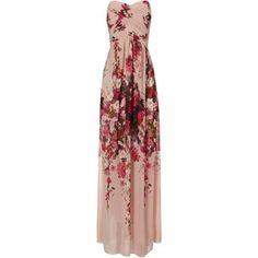 Jane Norman Wild Flower Maxi Dress