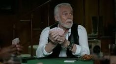 "everyone knows that you can save money in just 15 minutes with GEICO. But did you know how irritating Kenny Rogers is when he sings ""The Gambler"" at a poker table? Ken Burns, Best Commercials, Curly Hair Men, Tv Ads, Online Earning, Everyone Knows, Country Music, Did You Know, Actors & Actresses"