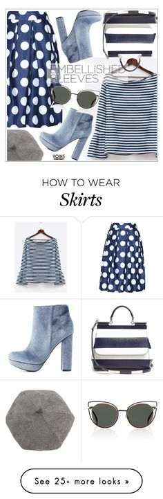 """""""Make a Statement: Embellished Sleeves"""" by teoecar on Polyvore featuring Charlotte Russe, Dolce&Gabbana, Fendi, yoins, yoinscollection and loveyoins"""