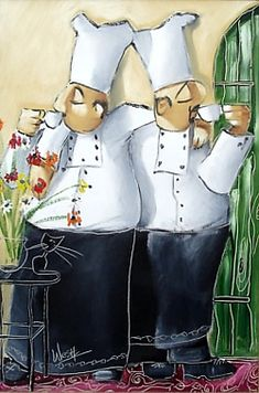 chef.quenalbertini: Chef's morning tea   Robertson Art Gallery (RW15)