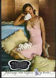 1947 Fischer Silk Slip