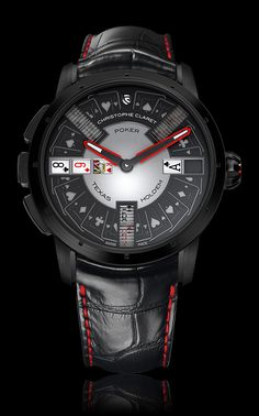 POKER | Gaming Watches | Christophe Claret | REFERENCE : MTR.PCK05.061-080