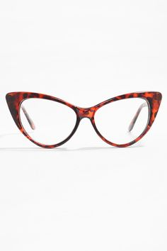 652109204f8 Kourtney Kardashian Clear Cat Eye Glasses - Tortoise - 3015-2 Cat Eye  Glasses