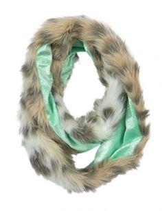 ****** Justice - Snow Leopard Faux Fur Scarf - Reg. $24.90, on sale for $11.95 ******