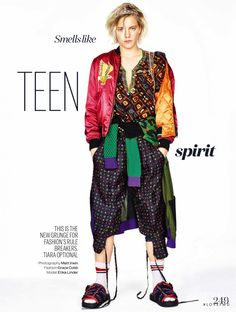 Erika Linder featured in Smells like teen spirit, March 2016