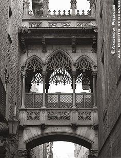Bridge of Sighs, Barcelona - andrew prokos