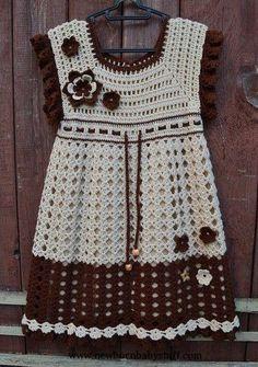 Crochet Baby Dress Crochet Baby Dress Archivo subido......