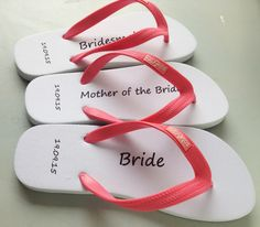 421670fa64bed7 Personalised flip flops for anyone. Customised your own flip flops with your  logos