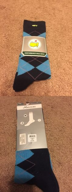 Socks 181140: Augusta National Masters Performance Golf Socks - Adult Size 6-12 -> BUY IT NOW ONLY: $35 on eBay!