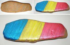 Decorațiuni tricolore 1 Decembrie, Romania, Handmade, Diy, Hand Made, Bricolage, Craft, Diys, Handyman Projects