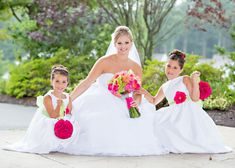 Lime Green and Hot Pink Massachusetts Wedding | Hot pink, Limes and ...