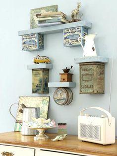 Die 57 Besten Bilder Von Regale Selbst Bauen Shelves Recycling