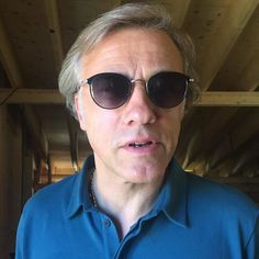 The fabulous actor Christoph Waltz in #samaeyewear for his new upcoming movie! #christopherwaltz
