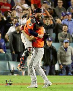 a9e14c25e Charlie Morton and Brian McCann 2017 World Series Celebration Houston Astros  Premium Poster Print - Photofile