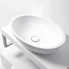 Calais Silkstone Countertop Basin - Lavare Bathrooms Perth