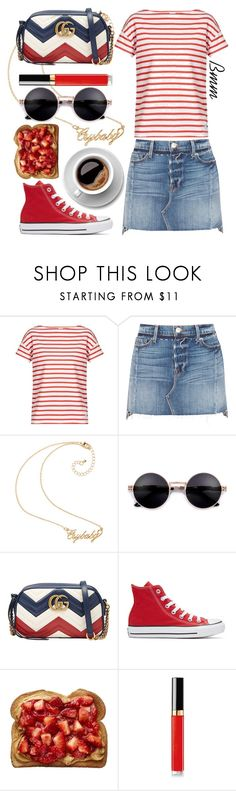 """""""Retro Sunglasses"""" by bianca1408 ❤ liked on Polyvore featuring Orcival, Frame, Hot Topic, Gucci, Converse, Chanel and RetroSunglasses"""