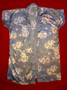Silk Kimono by RetroRedheadCo on Etsy