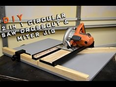 Making The MAX CUT 2 Circular Saw Crosscut & Miter Jig | Limited Tools Episode 003 - YouTube
