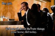 Tell me about your horse..