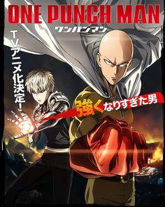 Anunciado el reparto y equipo de producción principal del Anime One Punch-Man.