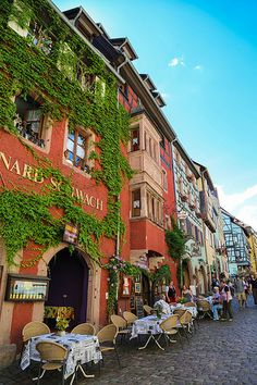 A charming town along the Alsace Wine Road. Officially designated as one of the most beautiful villages of France. Beautiful Places To Travel, Beautiful World, Belle France, Beau Site, Beaux Villages, France Travel, Dream Vacations, Places To See, Around The Worlds