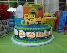 """""""Say Cheese!"""" Birthday Party - so many great ideas! {click to see more party images}"""
