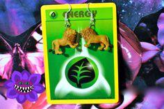 Lion Earring, Earring, Jewellery, Kawaii Accessory, Cat Earrings, Animal, Decora, Kitty, Animal Jewellery, African, Geeky, Jewelry