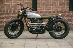 Kawasaki W650 Custom by Pancake Customs