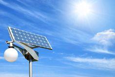 Lámpara que funciona con energía solar : iEcologia - ecologia y medio ambiente