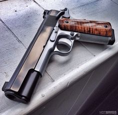 (Custom 1911) pistol, guns, weapons, self defense, protection, protect, concealed, 2nd amendment, america, 'merica, firearms, caliber, bore, #guns #weapons