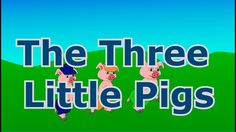 The Three Little Pigs - Animated fairy tale for toddlers and children - bedtime stories for kids Bedtime Stories For Toddlers, Stories For Kids, Tales For Children, Three Little Pigs, Animated Gif, Fairy Tales, Preschool, Animation, Teaching