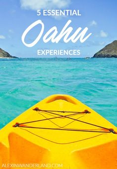 For me, visiting Hawaii is an experience of complete sensory overload, and I wish the same for every visitor to these amazing islands! Explore Oahu with all five senses by following these tips!