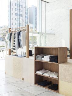 Modern minimal retail space by Schemata Architects