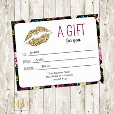 Lipsense Gift Certificate Template Awesome Lipsense Gift Certificate Template Free Graduation Certificate Template, Certificate Of Achievement Template, Free Gift Certificate Template, Certificate Design, Gift Certificates, Mary Kay Party, Going Away Gifts, Vacation Bible School, Client Gifts