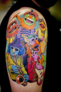 Muppets tattoo? Baller.