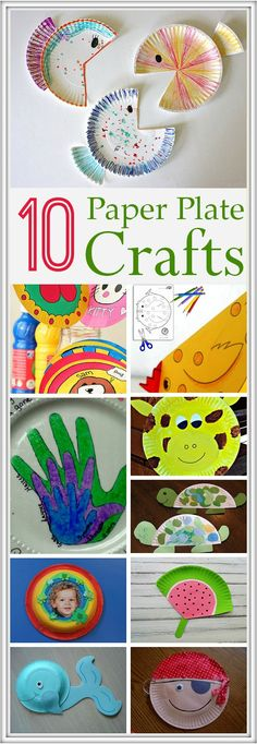 Paper Plate Crafts for Kids To Make: Paper plates can be used for many craft activities, other than for the regular party purposes. Here are 10 best ways to put old paper plates to use and keep your kid busy too!