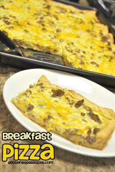 Breakfast Pizza Recipe - GOODEness Gracious