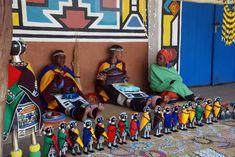 As cores e formas da tribo africana Ndebeles                                                                                                                                                     Mais