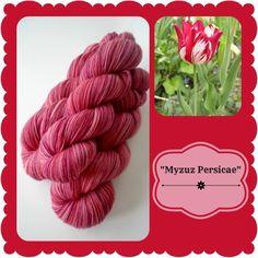 Myzuze Persicae - Dutch Flowers | Red Riding Hood Yarns On October 3rd, Red Riding Hood, Yarns, Pink Purple, Holland, Dutch, Initials, Flowers, The Nederlands