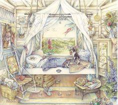 Kim Jacobs Seaside Bedroom