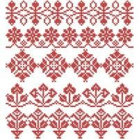 Traditional Cross Stitch Band Samplers - Addicted To Stitches | OregonPatchWorks