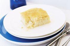 Galaktoboureko (Sweet milk custard dessert)