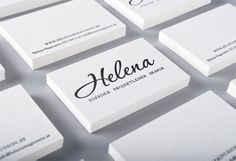 22 new, creative and cool business cards - Best of September 2012 - Blog of Francesco Mugnai